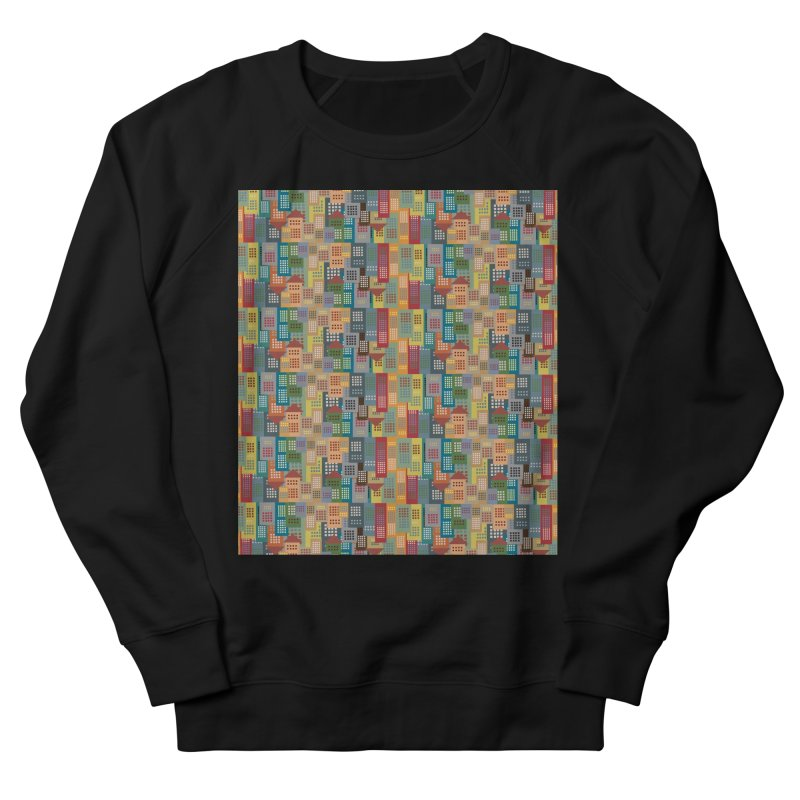 COLORFUL BUILDINGS Men's Sweatshirt by pick&roll