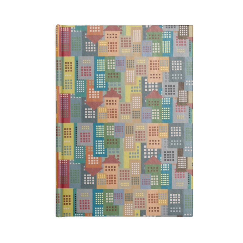COLORFUL BUILDINGS Accessories Notebook by pick&roll
