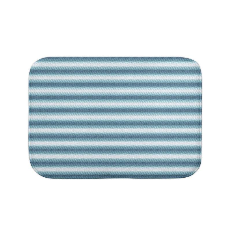 WAVING STRIPES Home Bath Mat by pick&roll