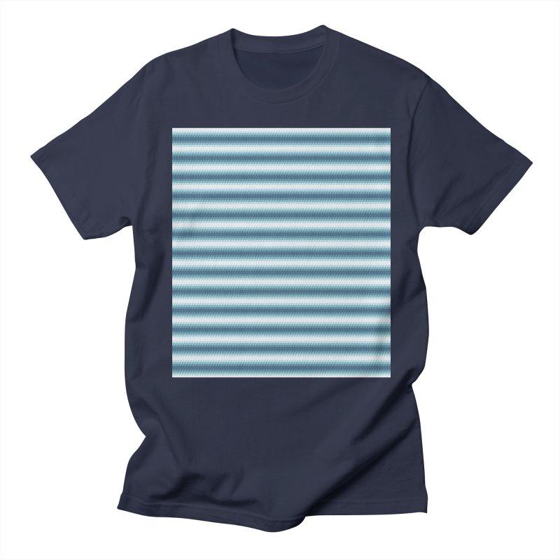 WAVING STRIPES Men's T-shirt by pick&roll