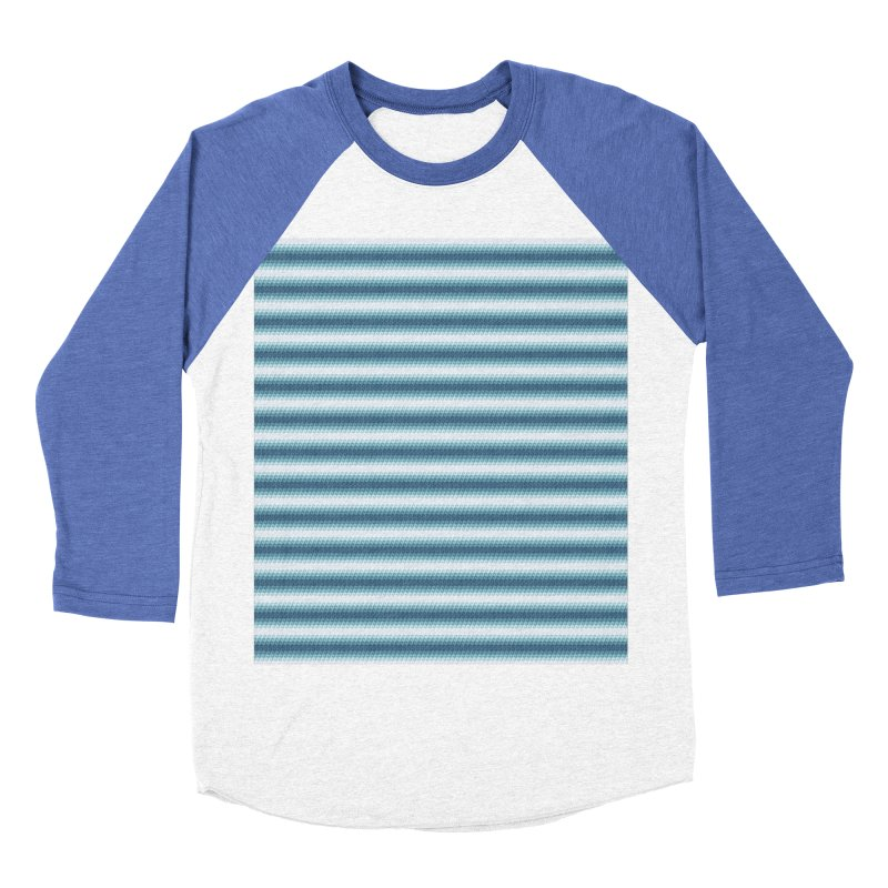 WAVING STRIPES Men's Baseball Triblend T-Shirt by pick&roll