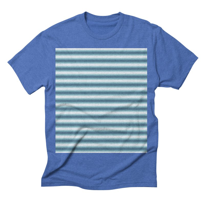 WAVING STRIPES Men's Triblend T-shirt by pick&roll