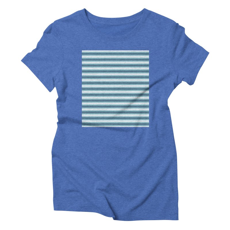 WAVING STRIPES Women's Triblend T-Shirt by pick&roll