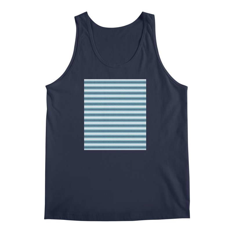 WAVING STRIPES Men's Tank by pick&roll