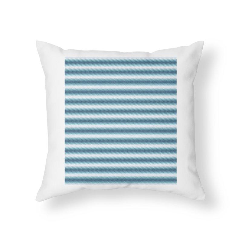 WAVING STRIPES Home Throw Pillow by pick&roll
