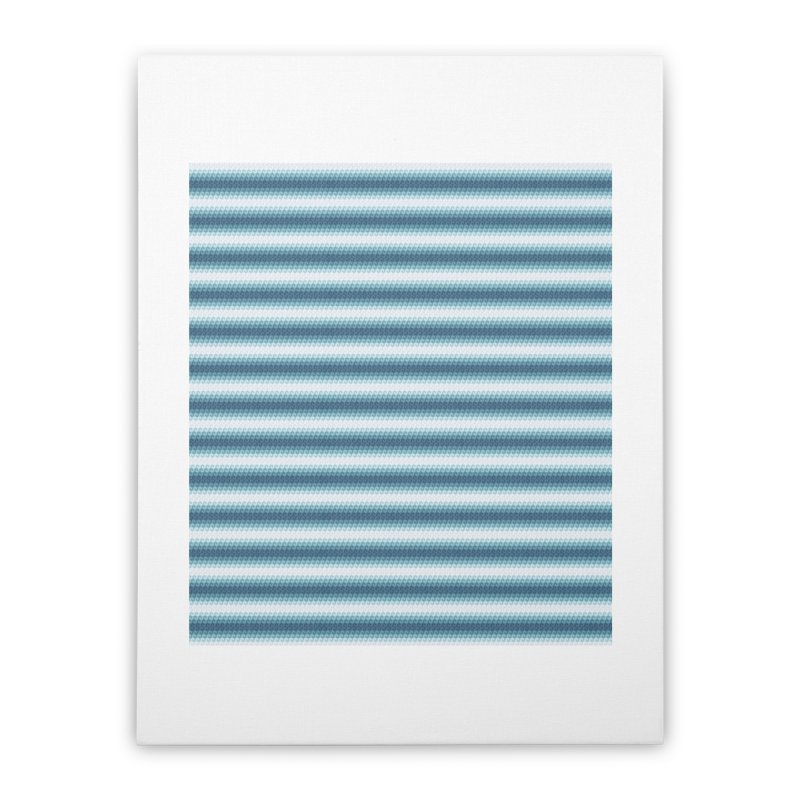 WAVING STRIPES Home Stretched Canvas by pick&roll