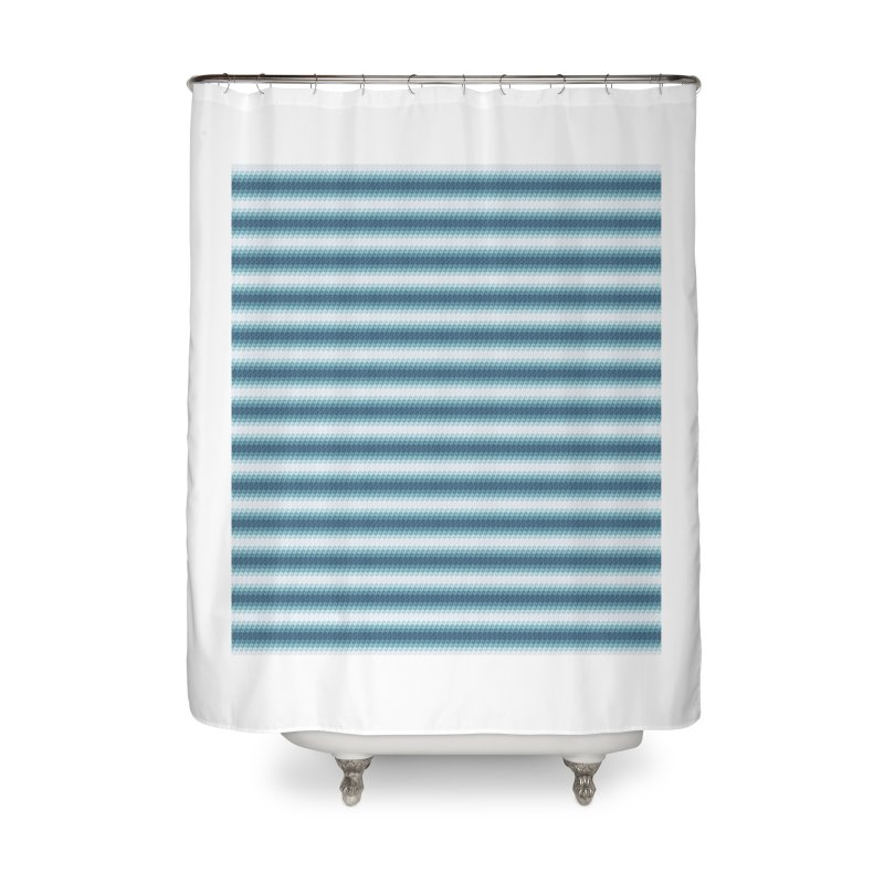 WAVING STRIPES Home Shower Curtain by pick&roll