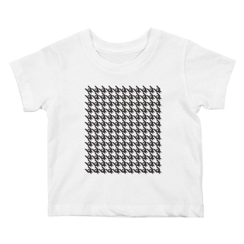 HANGING MONKEYS Kids Baby T-Shirt by pick&roll