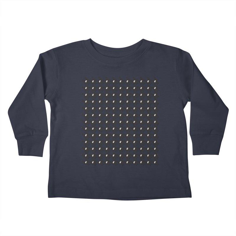 HANGING MONKEYS Kids Toddler Longsleeve T-Shirt by pick&roll