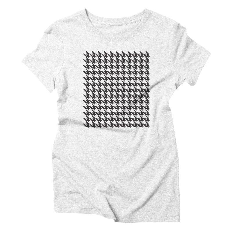 HANGING MONKEYS Women's Triblend T-shirt by pick&roll
