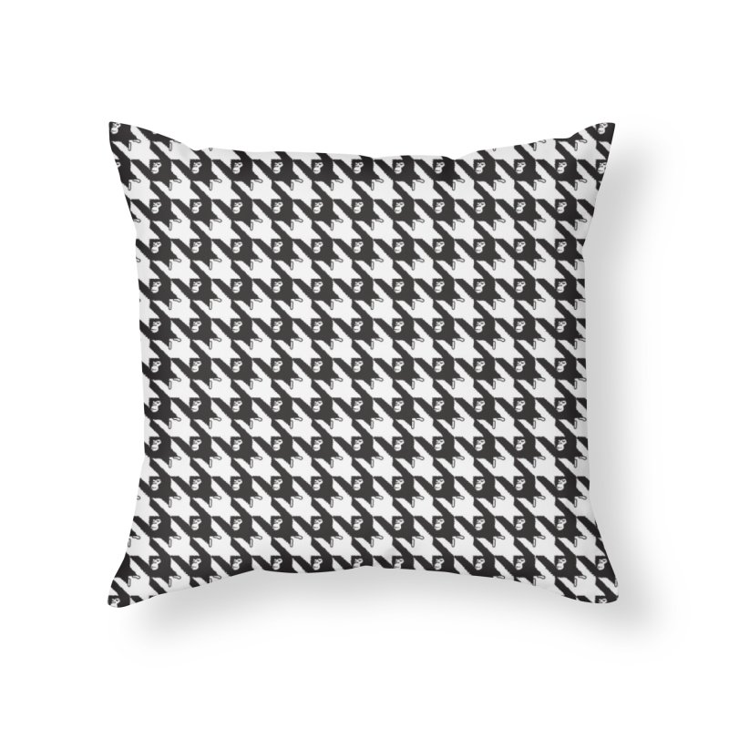 HANGING MONKEYS Home Throw Pillow by pick&roll