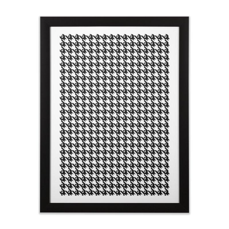 HANGING MONKEYS Home Framed Fine Art Print by pick&roll