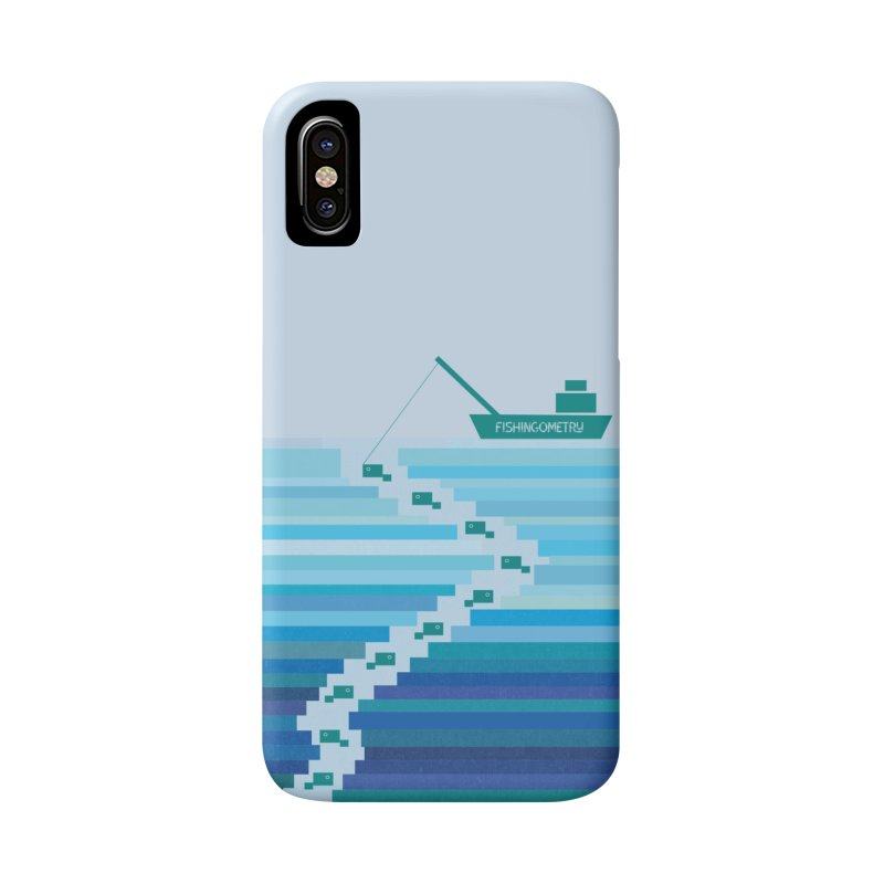 FISHINGOMETRY Accessories Phone Case by pick&roll