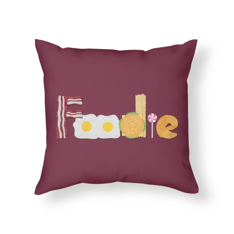 FOODIE in Throw Pillow by pick&roll