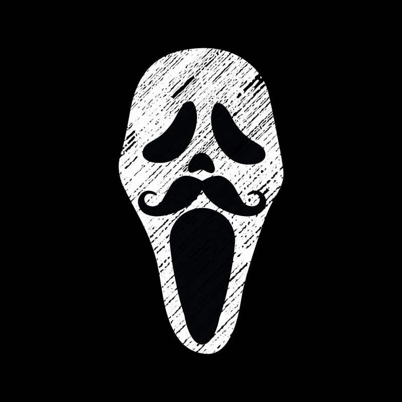 MUSTACHE SCREAM Kids Baby T-Shirt by pick&roll