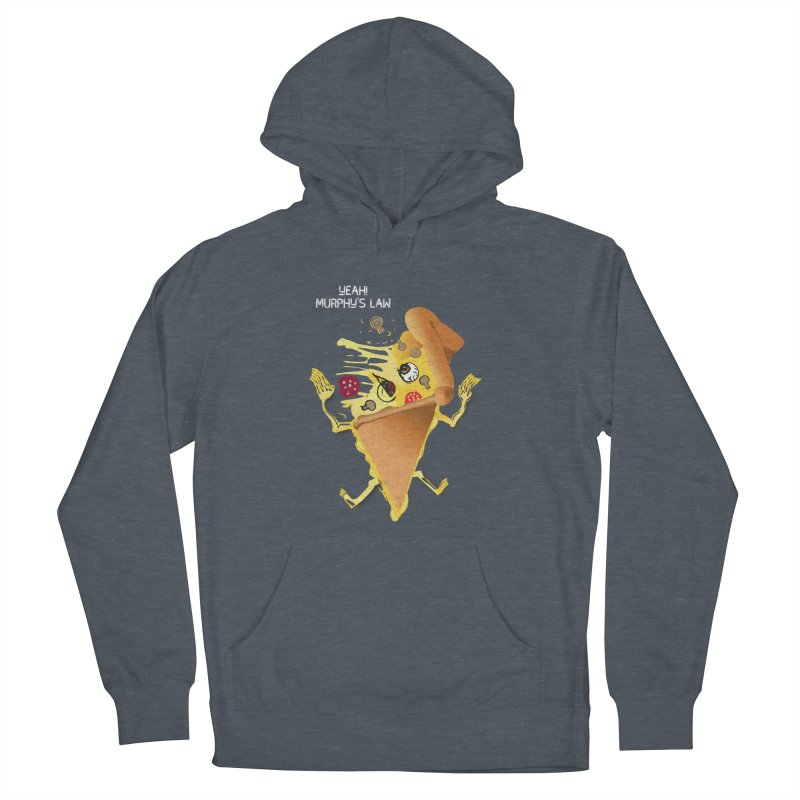 STICKY PIZZA Men's Pullover Hoody by pick&roll