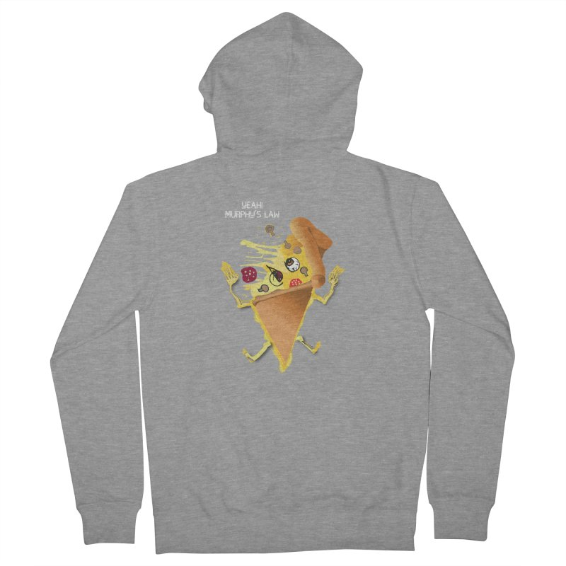 STICKY PIZZA Men's Zip-Up Hoody by pick&roll
