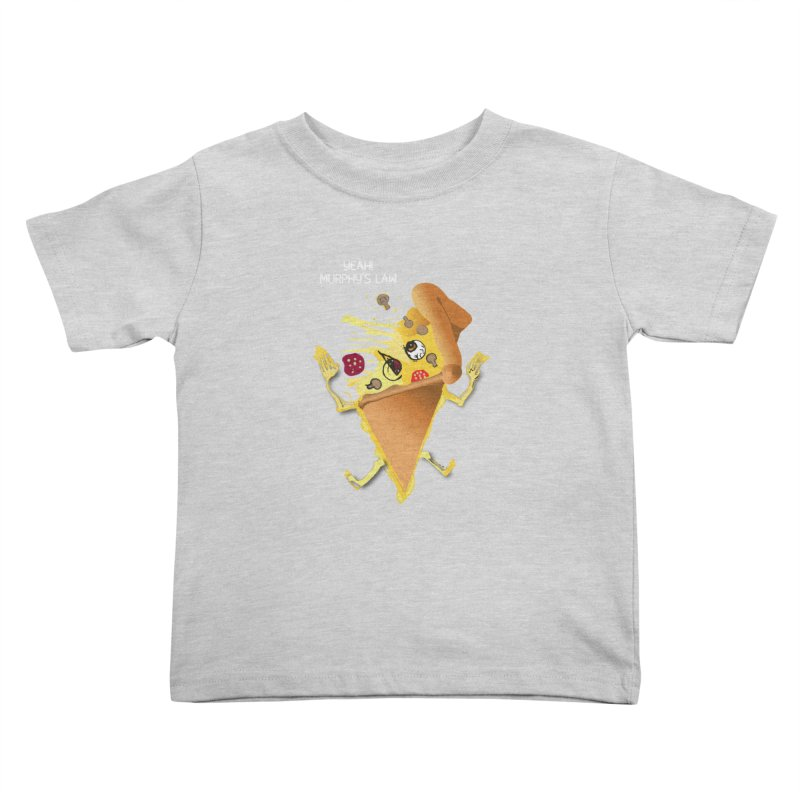 STICKY PIZZA Kids Toddler T-Shirt by pick&roll