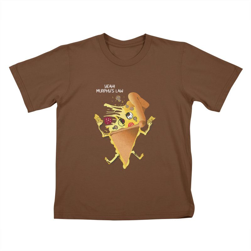 STICKY PIZZA Kids T-shirt by pick&roll