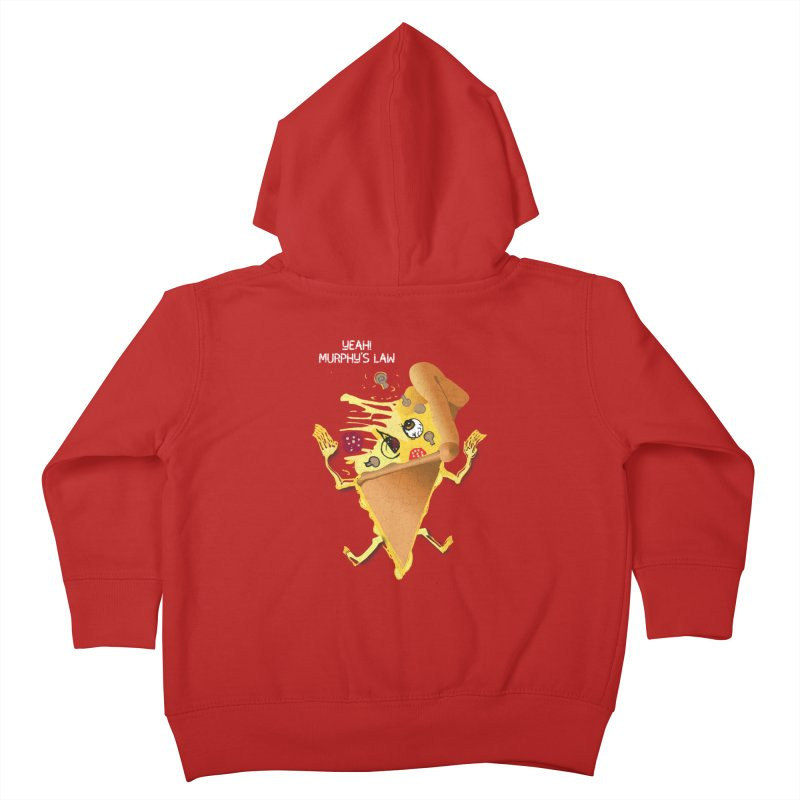 STICKY PIZZA Kids Toddler Zip-Up Hoody by pick&roll