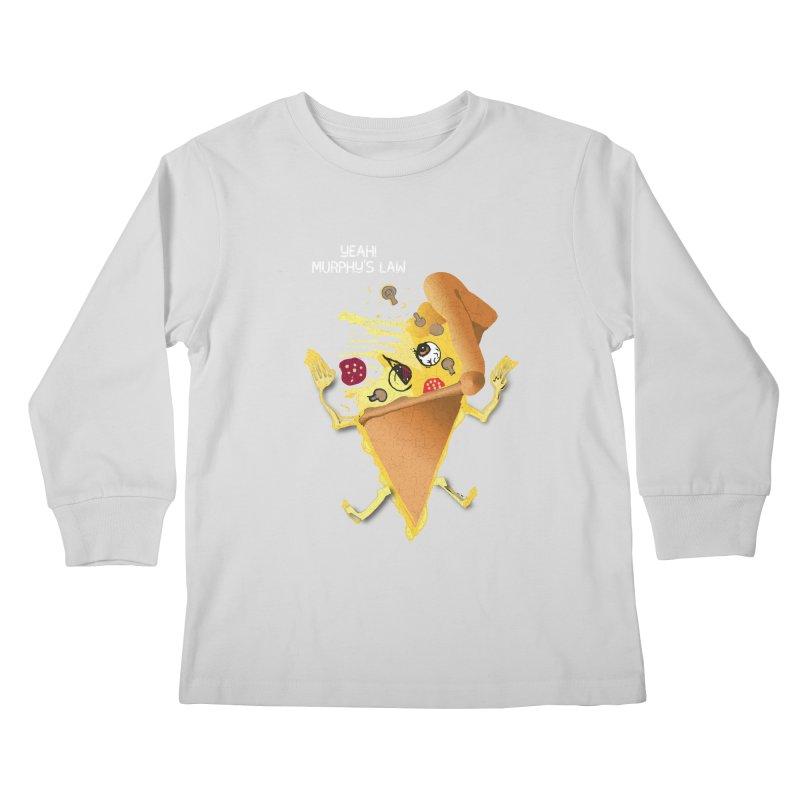 STICKY PIZZA Kids Longsleeve T-Shirt by pick&roll