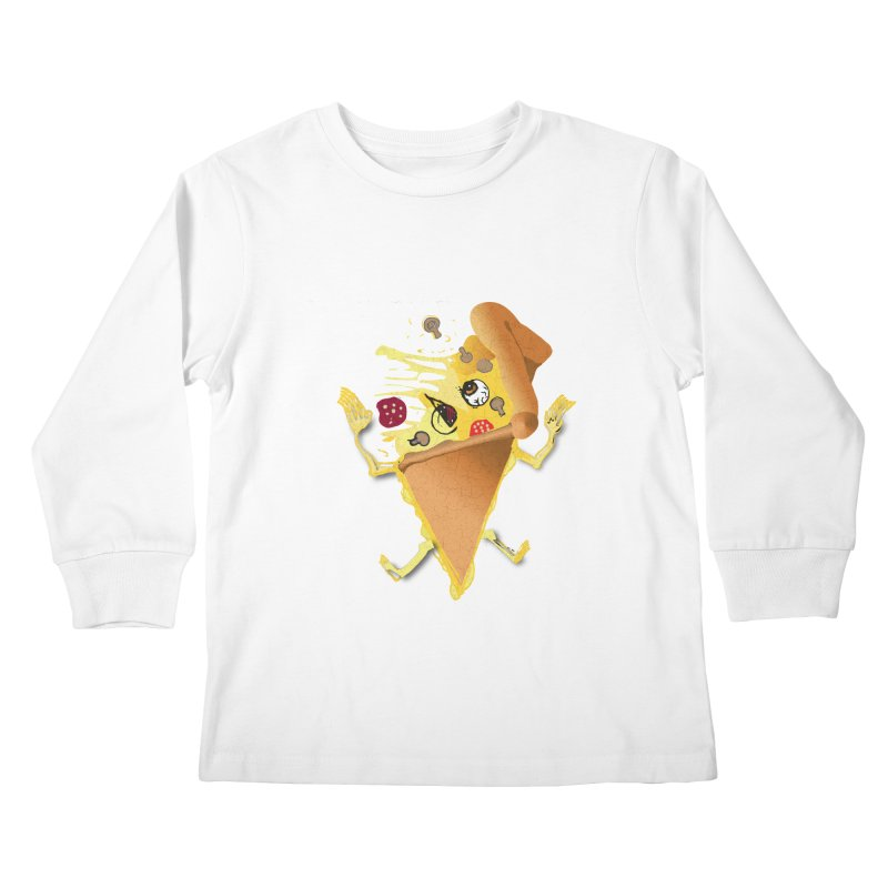 STICKY PIZZA Kids Longsleeve T-Shirt by pick&roll
