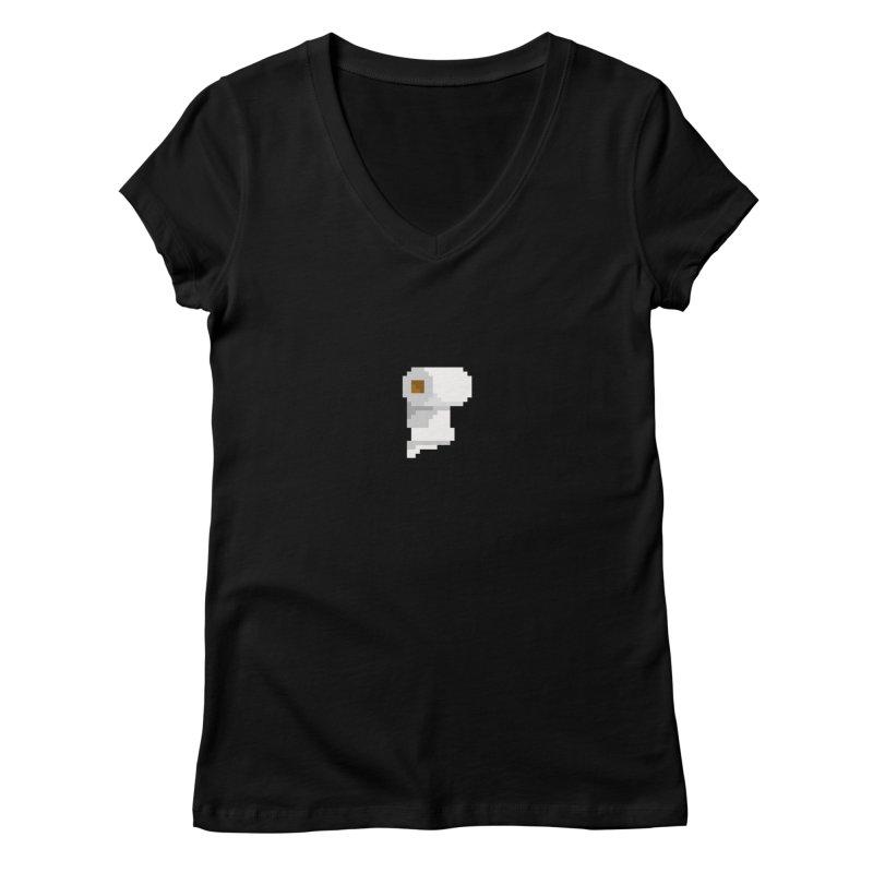 Paper.com Women's V-Neck by PICKY PEDESTRIAN