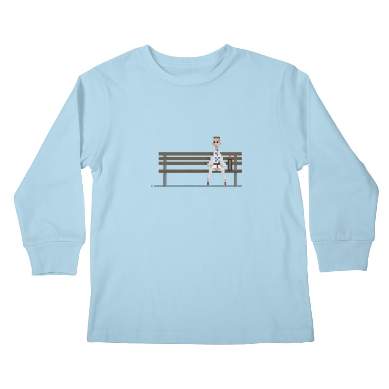 Box of chocolate Kids Longsleeve T-Shirt by PICKY PEDESTRIAN