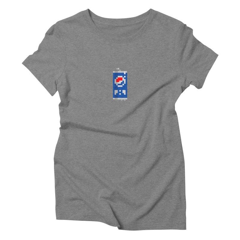 Zucker Waser Women's Triblend T-Shirt by PICKY PEDESTRIAN