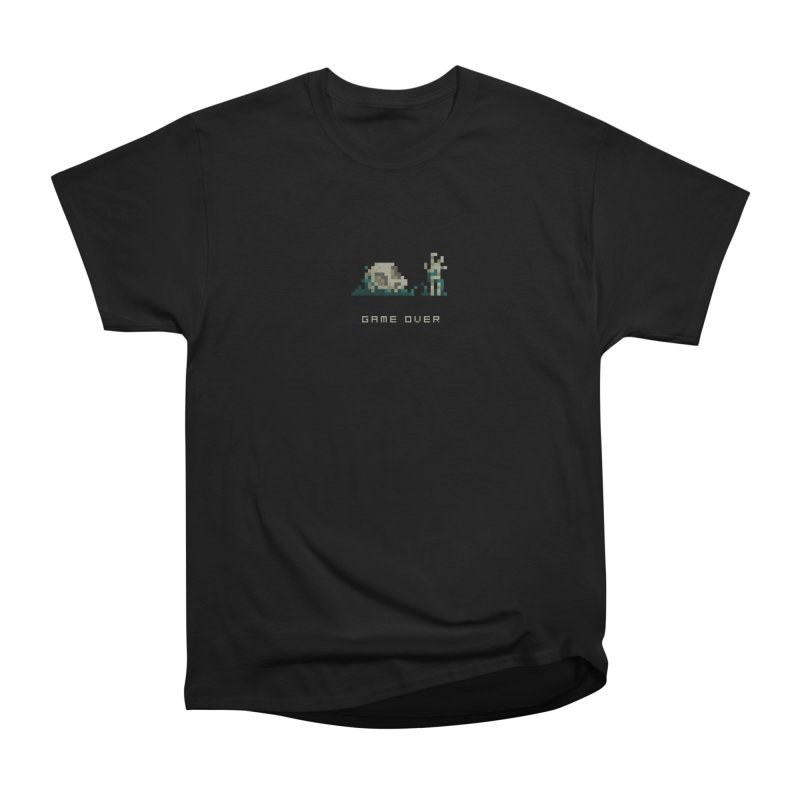 Game Over Men's Classic T-Shirt by PICKY PEDESTRIAN