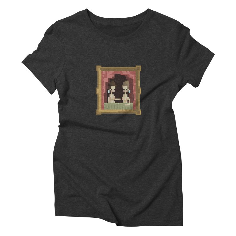 Touch Women's Triblend T-Shirt by PICKY PEDESTRIAN