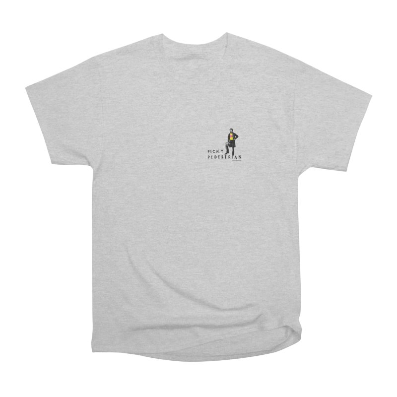 Picky Pedestrian Signature Old Sports T-shirt Women's Classic Unisex T-Shirt by PICKY PEDESTRIAN