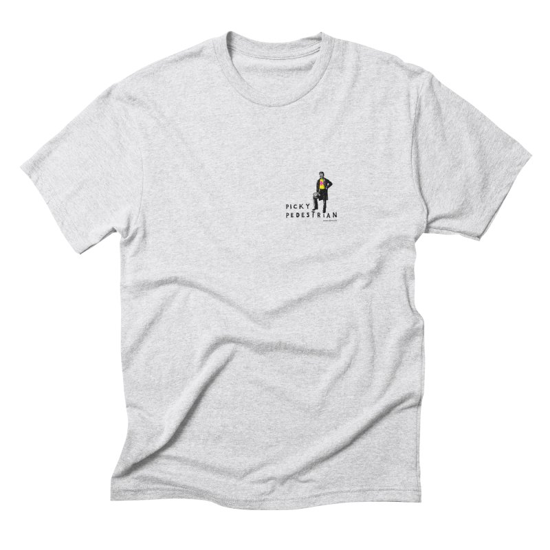 Picky Pedestrian Signature Old Sports T-shirt Men's Triblend T-Shirt by PICKY PEDESTRIAN