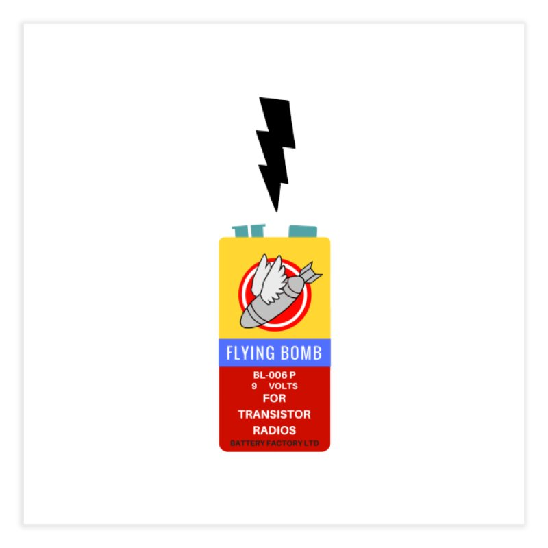 power up. Home Fine Art Print by pictrola graphics