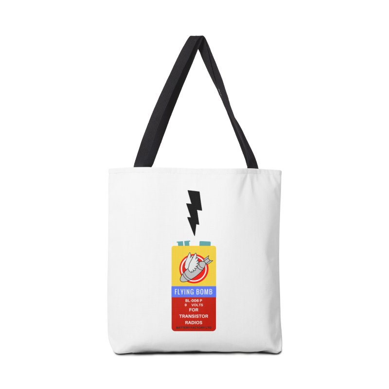 power up. Accessories Tote Bag Bag by pictrola graphics