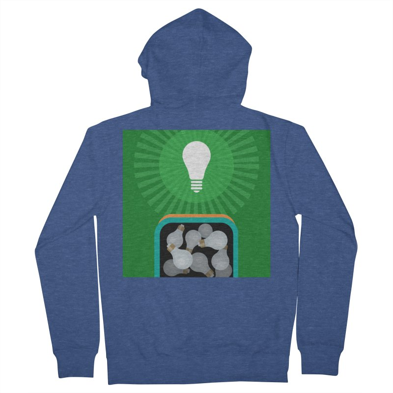 musing. Men's French Terry Zip-Up Hoody by pictrola graphics