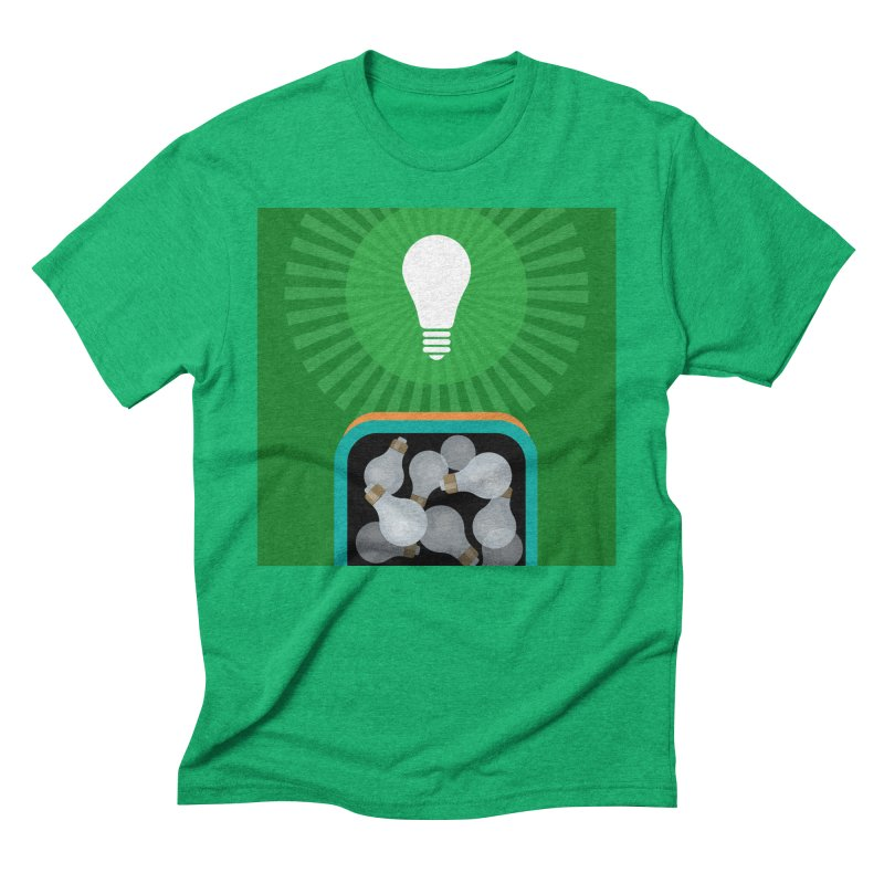 musing. Men's Triblend T-Shirt by pictrola graphics
