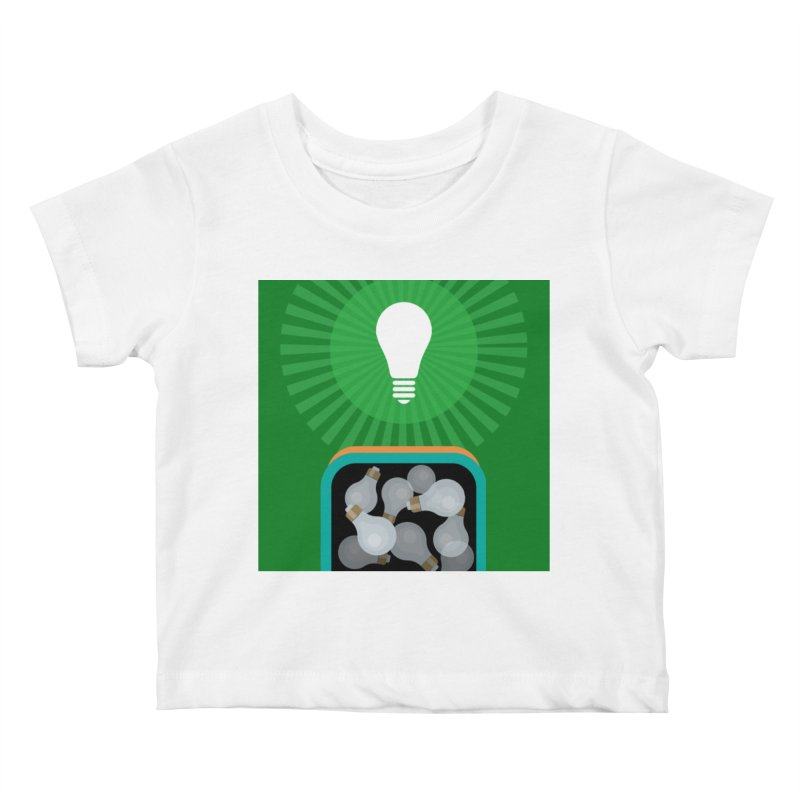 musing. Kids Baby T-Shirt by pictrola graphics