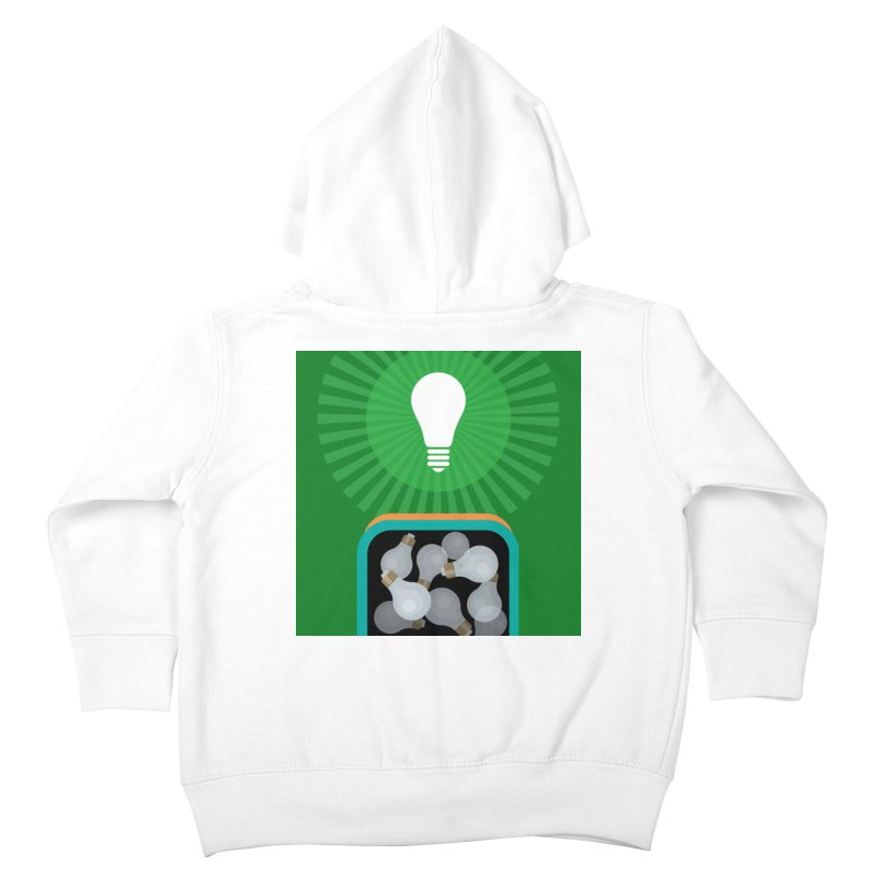 musing. Kids Toddler Zip-Up Hoody by pictrola graphics
