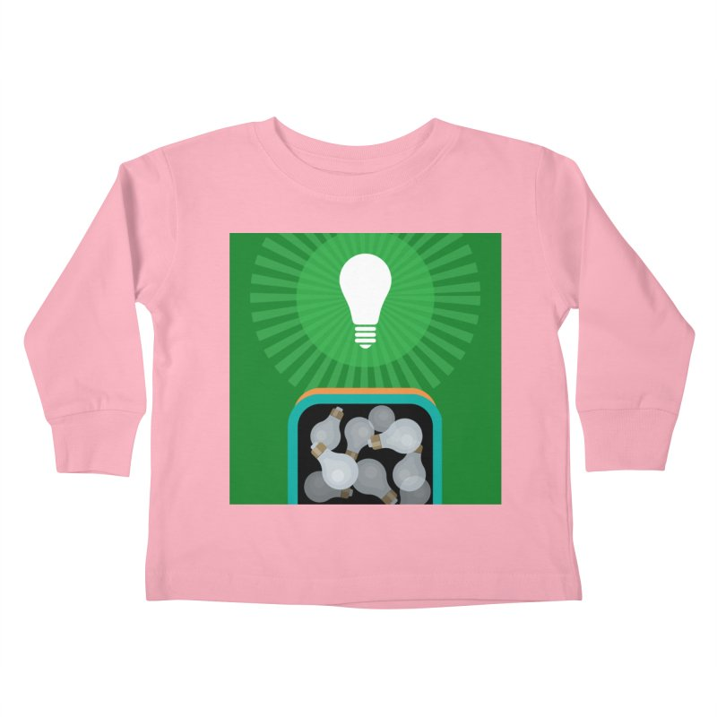 musing. Kids Toddler Longsleeve T-Shirt by pictrola graphics