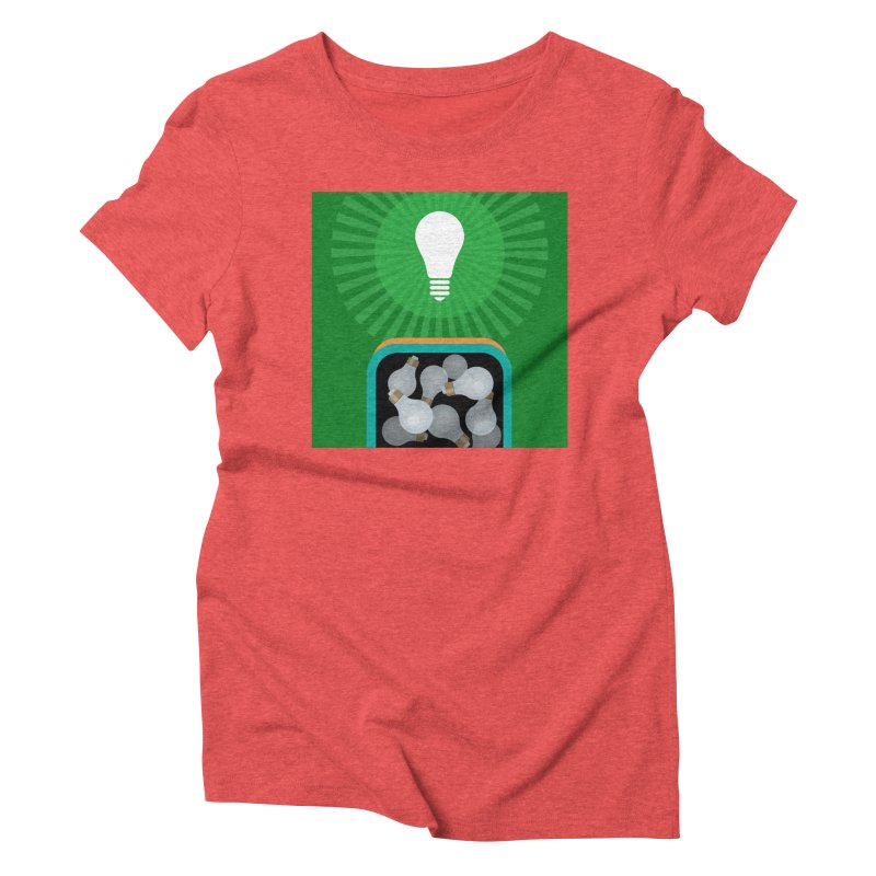 musing. Women's Triblend T-Shirt by pictrola graphics