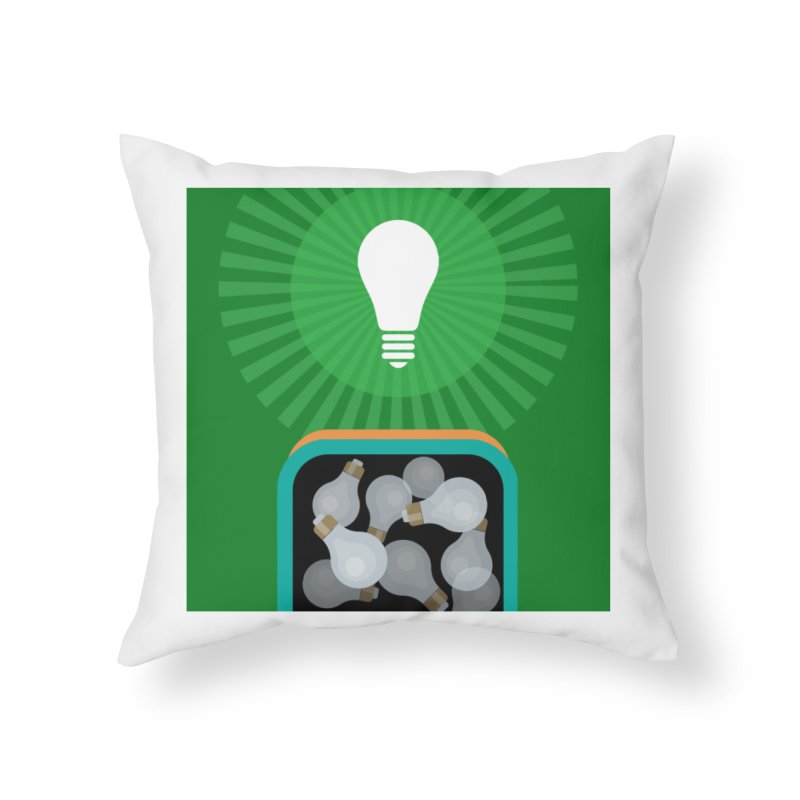 musing. Home Throw Pillow by pictrola graphics