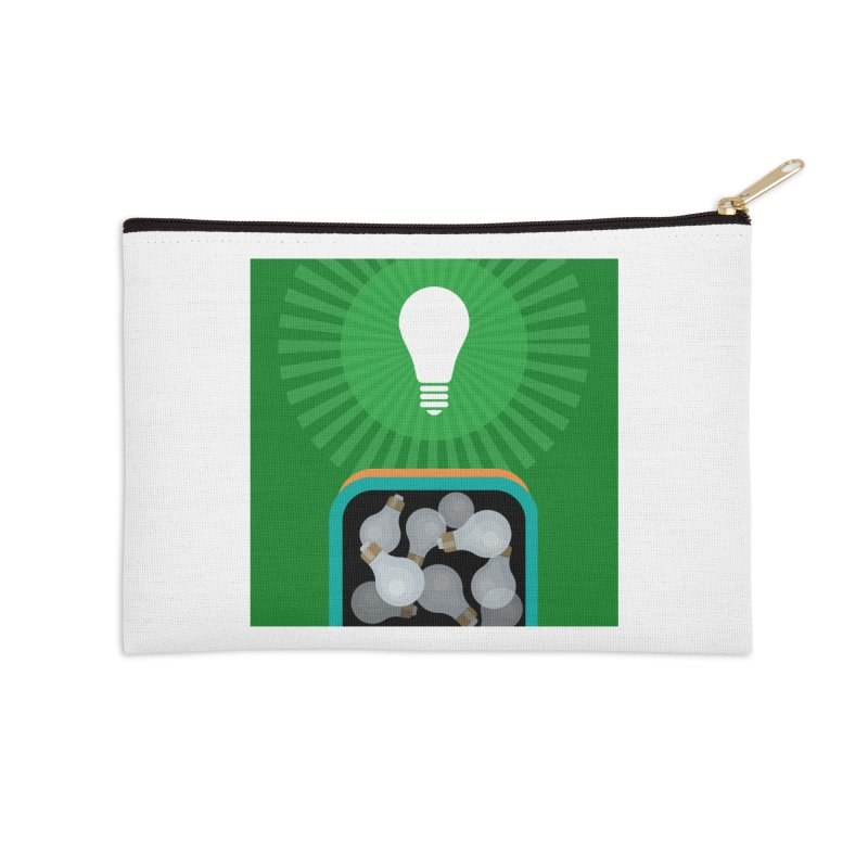 musing. Accessories Zip Pouch by pictrola graphics