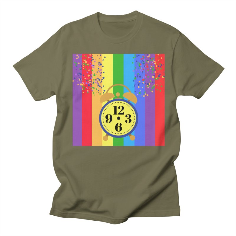 party all the time. Men's Regular T-Shirt by pictrola graphics