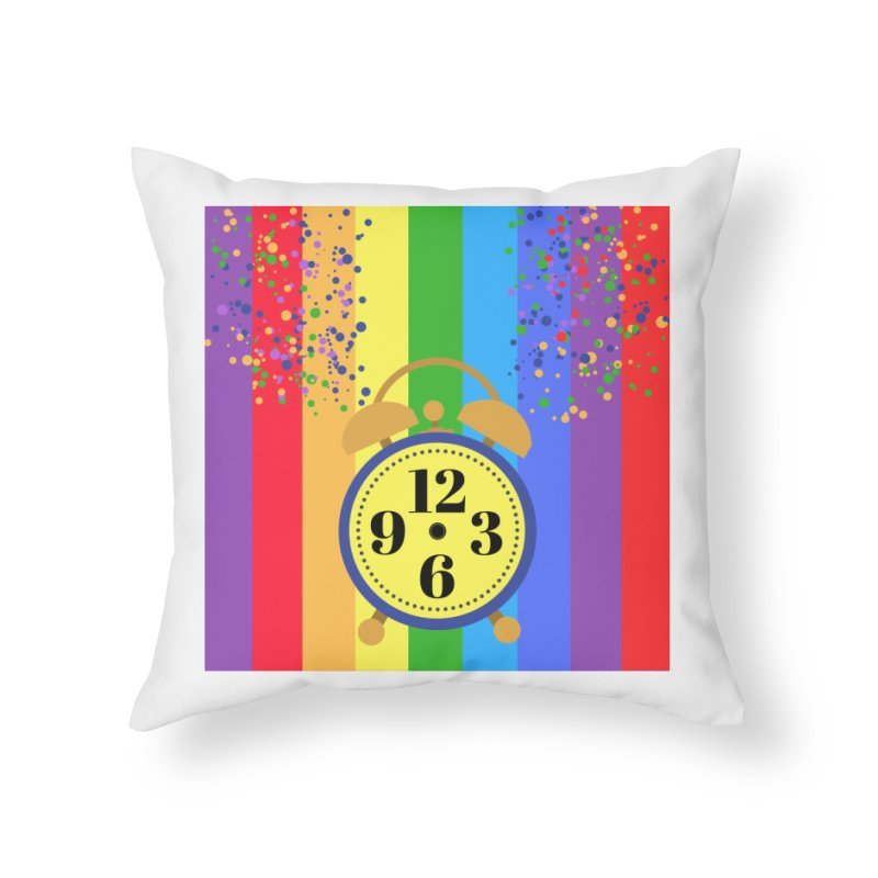 party all the time. Home Throw Pillow by pictrola graphics