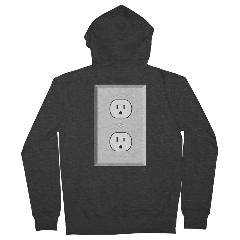 let me out. Women's French Terry Zip-Up Hoody by pictrola graphics