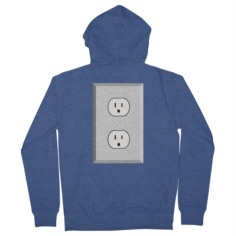 let me out. Men's French Terry Zip-Up Hoody by pictrola graphics