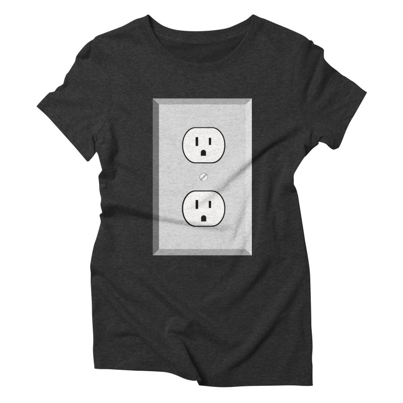 let me out. Women's Triblend T-Shirt by pictrola graphics