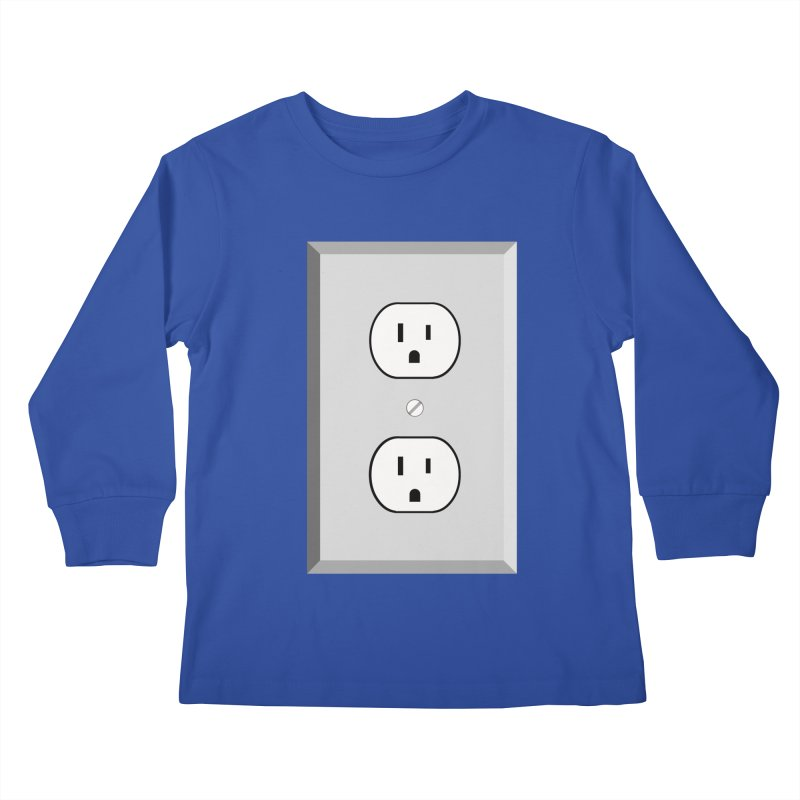 let me out. Kids Longsleeve T-Shirt by pictrola graphics