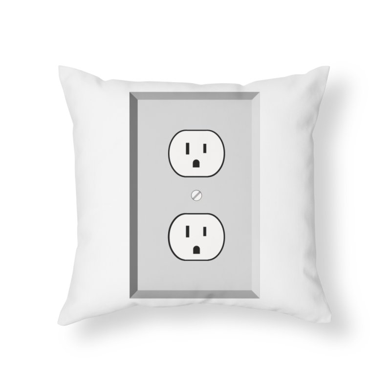 let me out. Home Throw Pillow by pictrola graphics